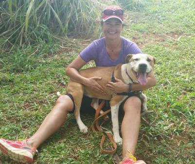 KHS Ali'i RClub wMimi Ali`i is friendly, spunky, and wants to be a lap dog. We had lots of fun with this hunk today. M.D. n D.C. 2 8 15